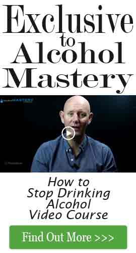 How to stop drinking alcohol video course