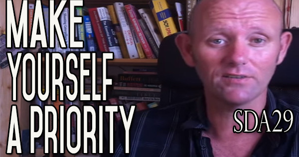 I Want to Stop Drinking Alcohol | Make Yourself a Priority | SDA29