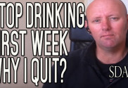 Stop Drinking Alcohol Week 1 - Why I Quit The Booze For Good | SDA1