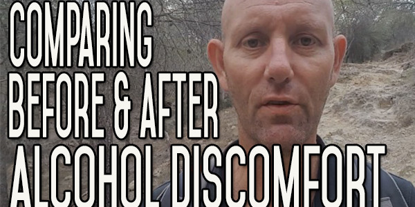 Comparing Your Discomfort Before and After You Stop Drinking Alcohol