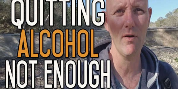 Quitting Drinking Alcohol is Not Enough to Change Your Life