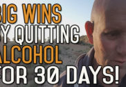30 Days without Alcohol Is Like Winning a Trophy
