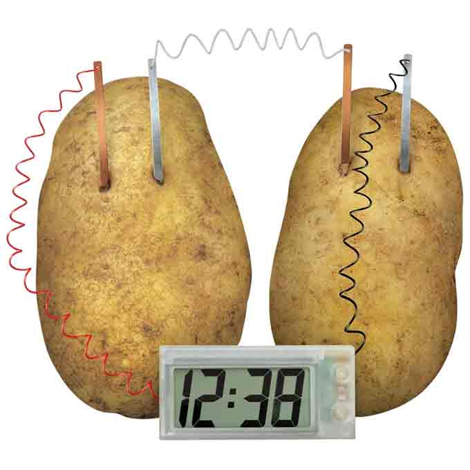 Potatoe-Clock