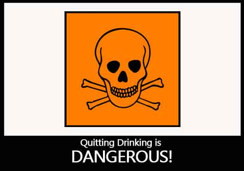 Alcohol Withdrawal is DANGEROUS!