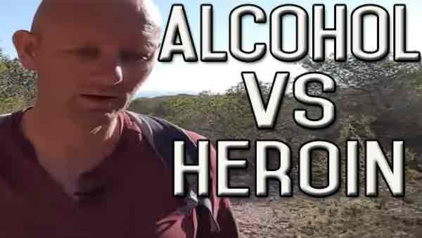 Making a Comparison Between a Heroin User and an Alcohol User