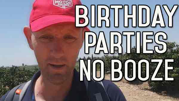 Birthday Parties Without Booze – What Am I Going To Do?