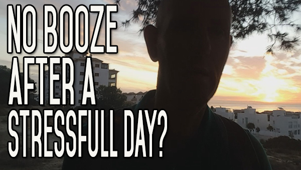How to Not Drink Alcohol After a Heavy Day or When You're Stressed Out