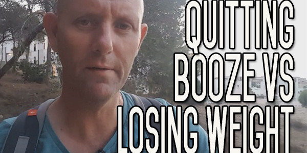 Comparing Quitting Drinking Booze With Losing Weight|Which is Harder?