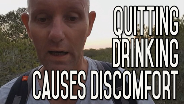 Quitting Alcohol Causes Discomfort | Tough Times Don't Last, Be Firm