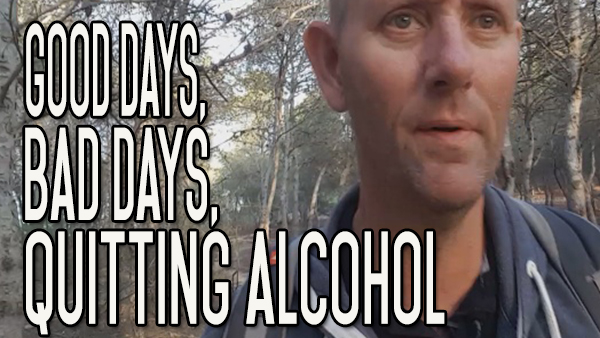 In Quitting Alcohol, There Will Be Good Days and Bad