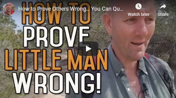 How to Prove Others Wrong… You Can Quit Drinking Alcohol #Little Man