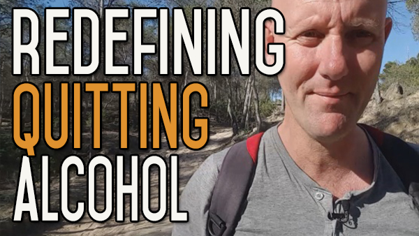 Redefine Quitting Drinking so That It's Not Such a Big Problem