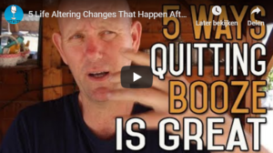 5 way's quitting booze is great