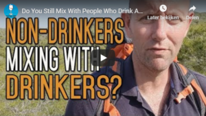 Non drinkers mixing with drinkers