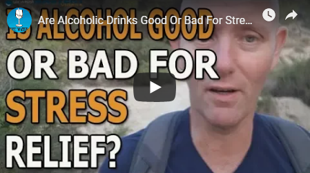 Are alcoholic drinks good or bad for stress release?
