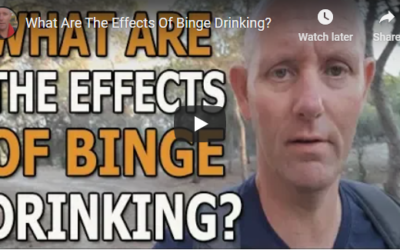 What are the effects of binge drinking?