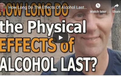 How long do for the effects of alcohol last in the body?