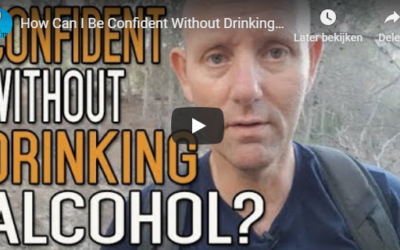 How can I be confident without drinking alcohol?