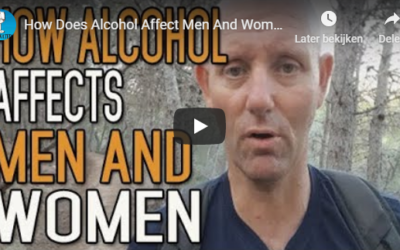 How does alcohol affect men and women differently?