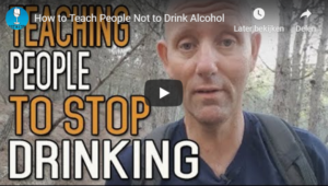Teaching people to stop drinking