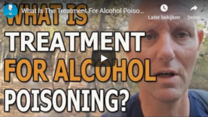 What is the treatment for alcohol poisoning