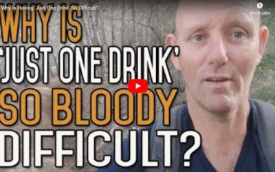 Why Is Having 'Just One Drink' So Difficult?