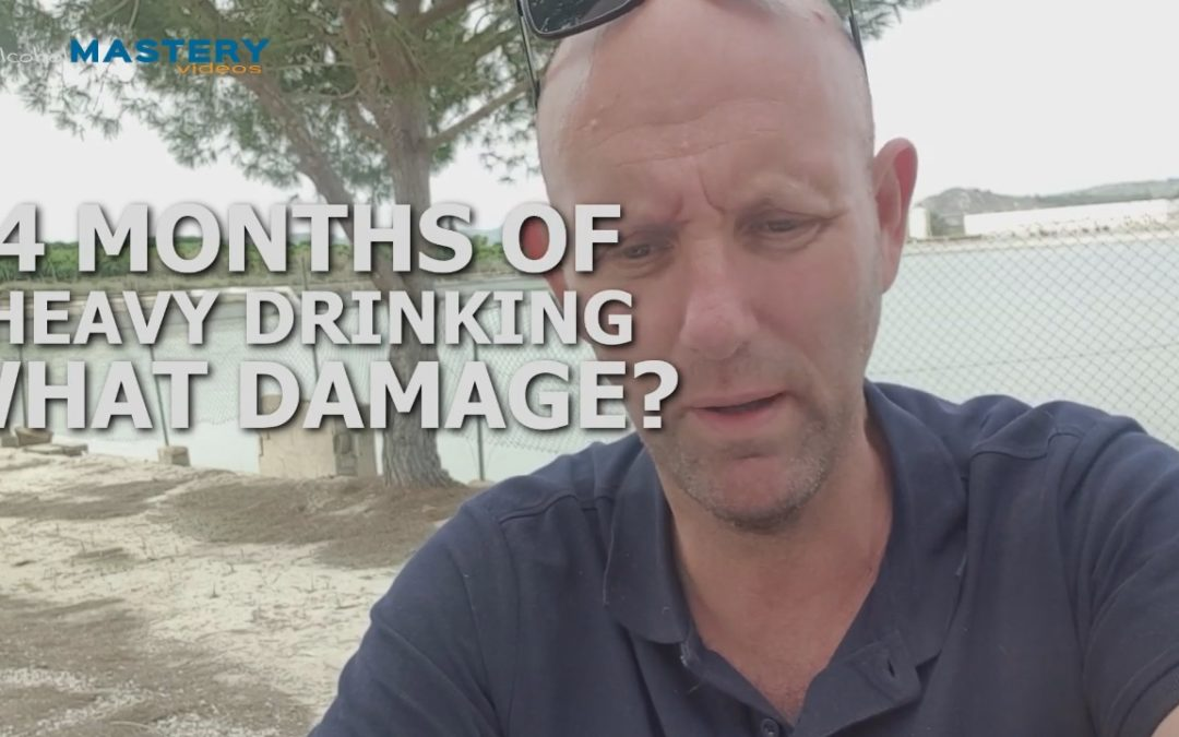 4 Month of Heavy Binge Drinking – A Damage Assessment