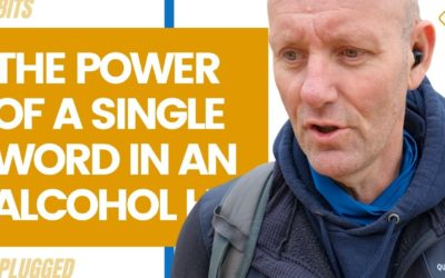 The Power of a Single Word in an Alcohol Habit