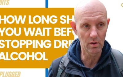 How Long Should You Wait Before Stopping Drinking Alcohol