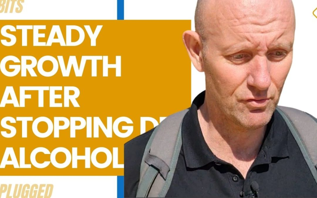 Steady Growth After Stopping Drinking Alcohol