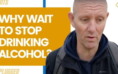 Why Wait to Stopping Drinking Alcohol?