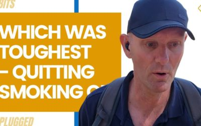 Which Was Toughest – Quitting Smoking or Boozing
